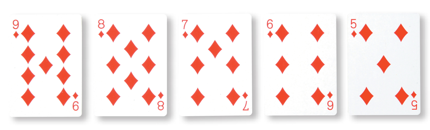 poker 3 pair vs straight