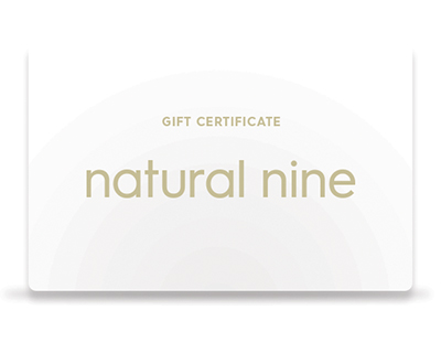 Natural Nine Gift Certificate thumbnail