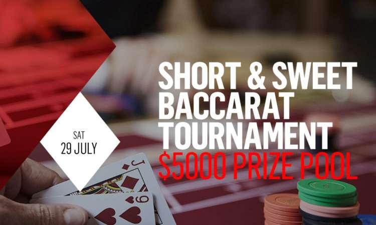 casino canberra baccarat tournament